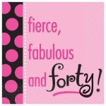 fierce, fab and forty